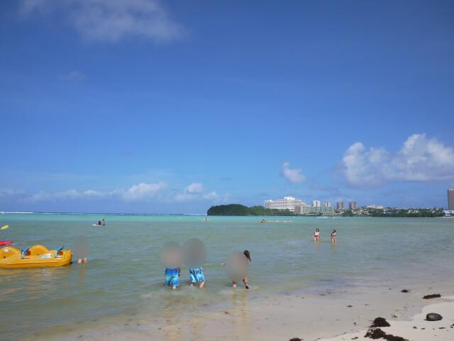 グアム ハガニア湾の風景写真画像