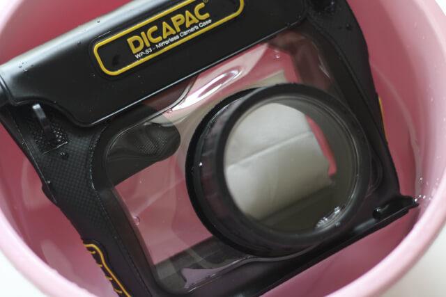 ディカパック水中テスト画像