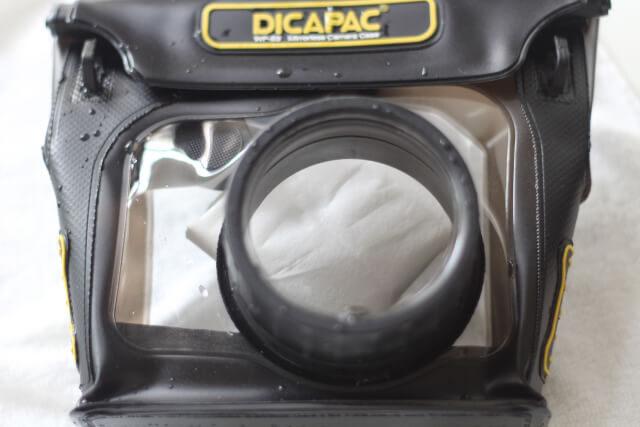 ディカパック水中から取り出した本体画像