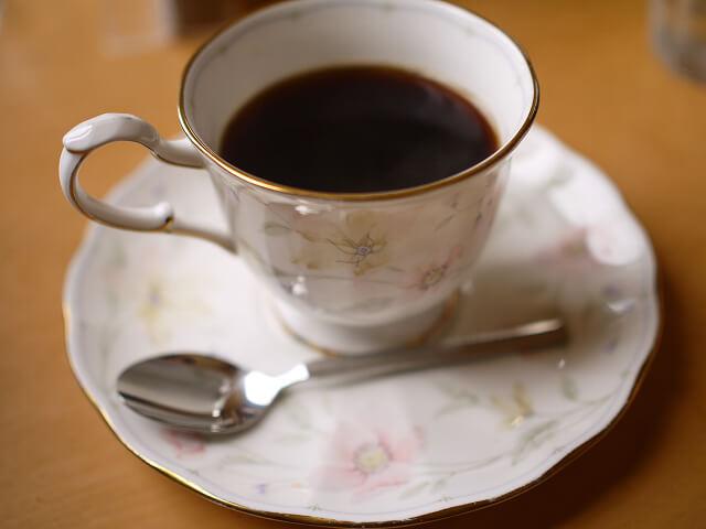 カフェファブ ホットコーヒー画像