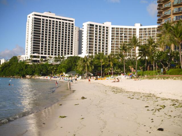 グアムのビーチ画像