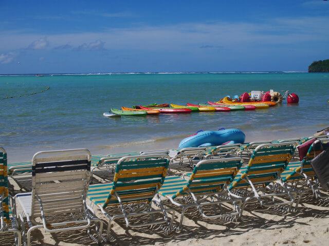 グアム ハガニア湾画像