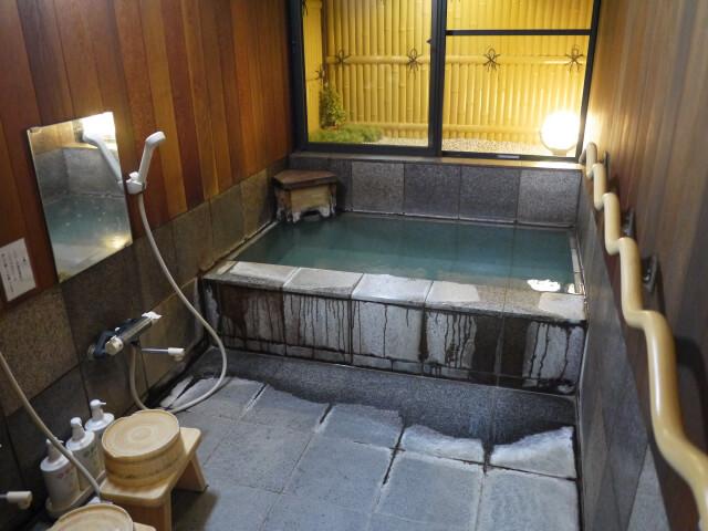 小泉館 温泉浴室画像