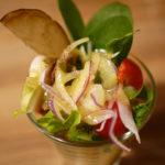 新鮮野菜が食べ放題の店「美山cafe 梅三小路店」でランチ 見慣れない珍し野菜も!