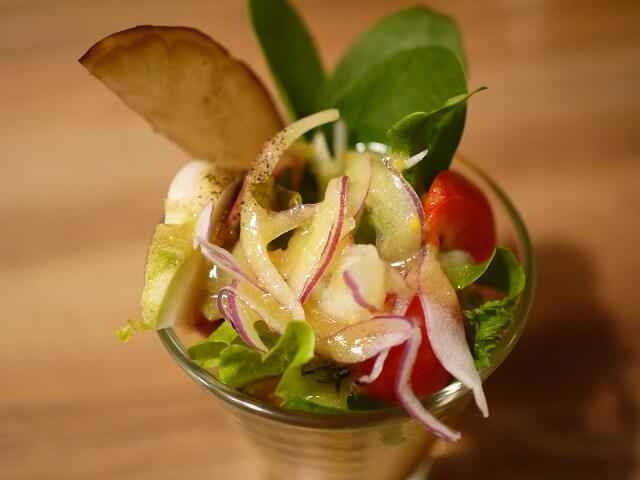 美山カフェの野菜画像