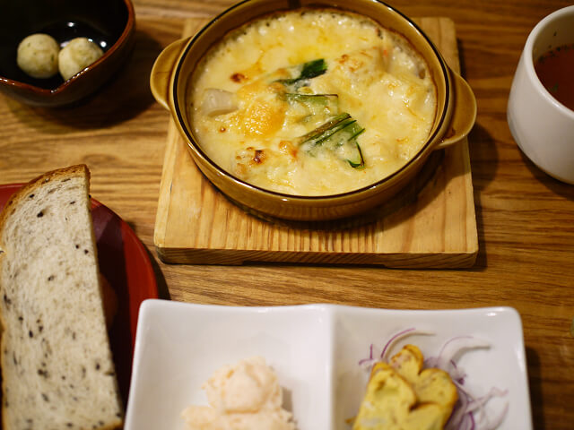 美山カフェのランチ画像