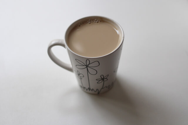 豆乳カフェオレ完成画像