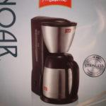 ステンレス製のメリタノア SKT541B 割れる心配がないコーヒーメーカーです。