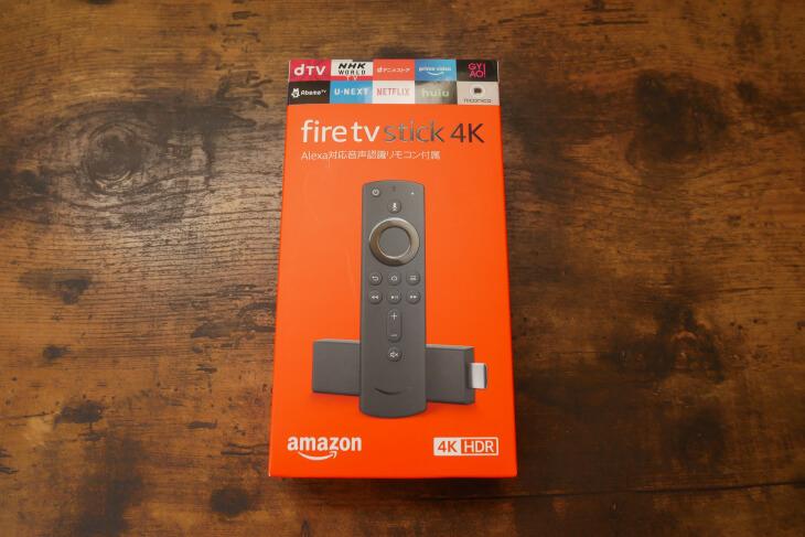 Fire TV Stick 4Kパッケージ画像