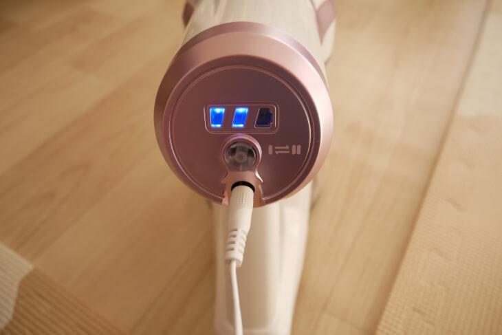 コードレス掃除機APOSEN H10 充電画像