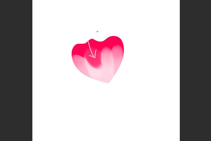 クリスタ 不透明水彩を使ったハイビスカスの花の描き方画面画像調整例